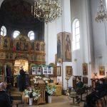 В минском храме Воскресения Христова состоялся открытый урок по Основам богослужебной жизни