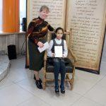 Дипломантом конкурса, посвященного 500-летию издания Библии Франциском Скориной, стала четвероклассница