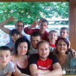 Завершилась первая смена Летней воскресной школы в поселке Россь