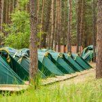 Детский православный палаточный лагерь открылся на берегу реки Страча