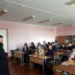 Жизнь человека – дар Божий: беседа священника с подростками в Копыльской гимназии № 1