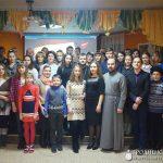 Братчики прихода храма в честь святых Виленских мучеников г. Волковыска провели творческий вечер для своих родителей