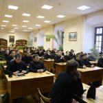 В Минской духовной семинарии прошел круглый стол «Русская Православная Церковь в годы массовых репрессий»