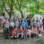 Завершилась первая смена детского туристического лагеря Гомельской епархии