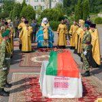 Состоялась торжественная церемония перезахоронения останков воина-пограничника, младшего сержанта Тимофея Морозова, погибшего в годы Великой Отечественной войны