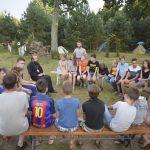 В Лидской епархии в одиннадцатый раз был организован детский православный палаточный лагерь