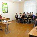 Влияние интернет-сообществ на учащихся обсудили вместе со священником в средней школе №11 города Лида