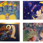 Воспитанница детской иконописной студии из города Гродно стала финалисткой международного конкурса