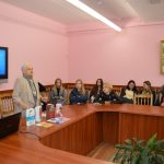 Учащиеся Минского лингвогуманитарного колледжа встретились с российской писательницей Татьяной Шипошиной