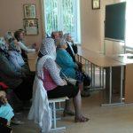 Актуальность трудов Н.Е. Пестова обсудили с читателями приходской библиотеки в Гродно
