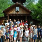 В Гомельской епархии завершилась первая смена детского туристического лагеря