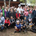 Завершилась работа детского православного лагеря на подворье Свято-Никольского мужского монастыря