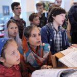 Ребят объединила летняя смена детского православного лагеря в Солтановщине