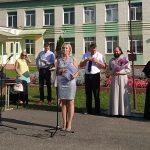 Священник Гродненской епархии принял участие в торжественных линейках, посвященных началу учебного года