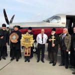 Митрополит Павел совершил облёт границ Беларуси с главными святынями Белорусской Православной Церкви
