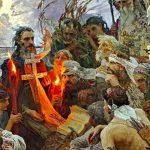 Крещение Руси: огнем и мечом?