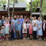 Воспитанники воскресных школ Гомельской епархии вместе с родителями приняли участие в семейном слете