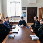 Митрополит Вениамин посетил Минскую духовную семинарию