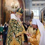 Епископ Вениамин, избранный Патриаршим Экзархом всея Беларуси, возведен в сан митрополита