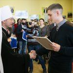 Патриарший Экзарх всея Беларуси посетил Минский государственный колледж электроники
