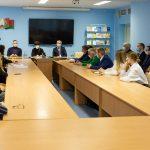 Митрополит Вениамин посетил факультет философии и социальных наук БГУ