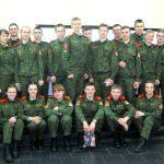 Полоцкие кадеты приняли участие в работе литературно-музыкальной гостиной «Огни Отчизны»