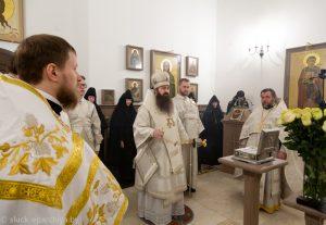 Асвячэнне храма епіскапам Слуцкім і Салігорскім Антоніем.