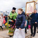 В минском приходе святителя Николая Японского состоялся необычный Крестный ход