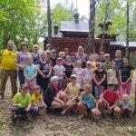 В Гомельской епархии завершил работу детский туристический лагерь для воспитанников воскресных школ