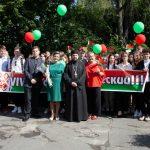Председатель ОРОиК Туровской епархии поздравил студентов МГПУ им. И.П. Шамякина с Днем знаний